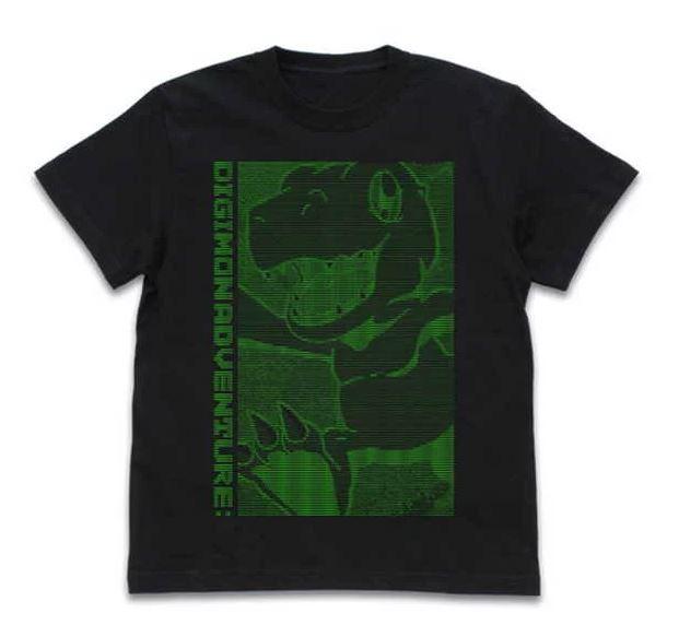 デジモンアドベンチャー: Tシャツ アグモン デジタルグラフィック